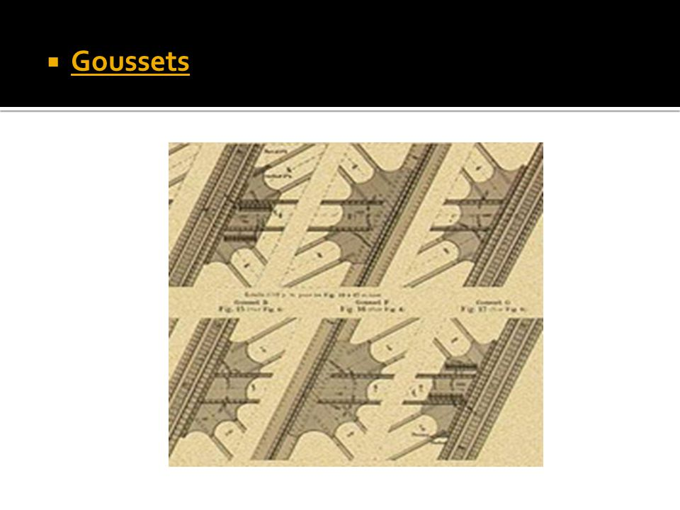 Goussets