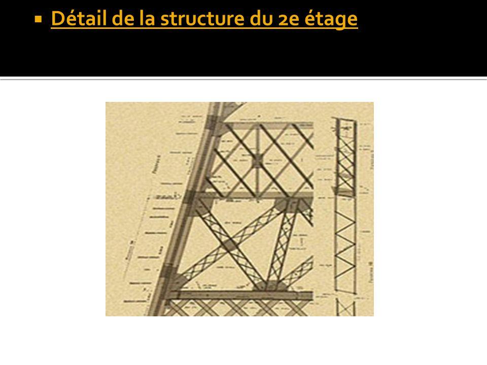Détail de la structure du 2e étage