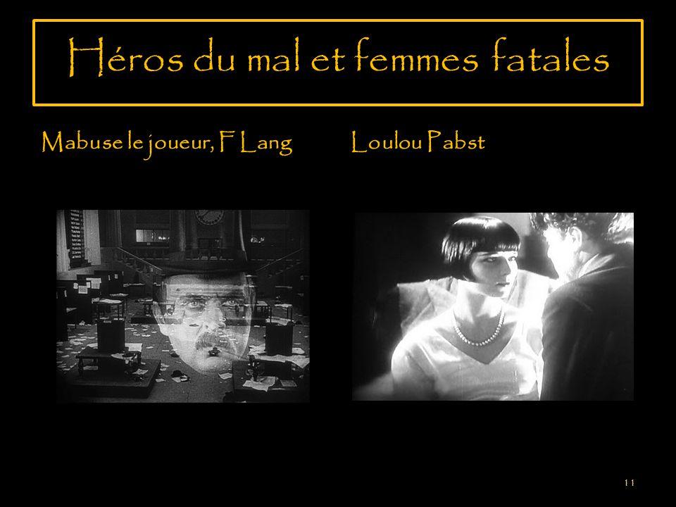 Héros du mal et femmes fatales Mabuse le joueur, F LangLoulou Pabst 11