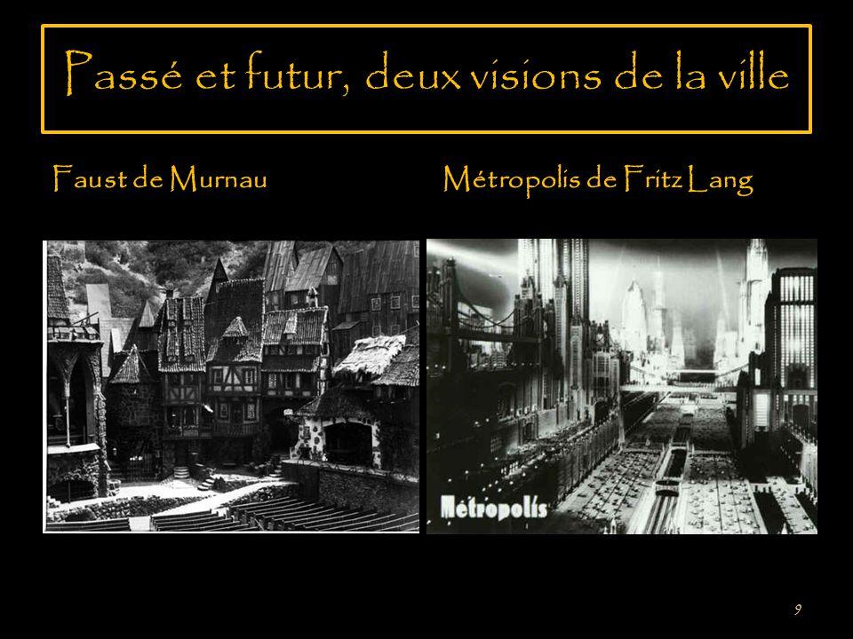 La ville médiévale ou la ville futuriste 10 Le cinéma allemand sintéresse beaucoup au cadre urbain.