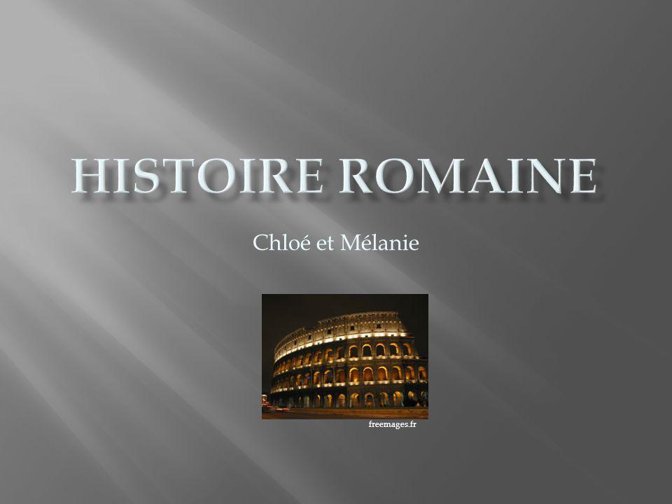 I.Frise chronologique des trois grandes périodes de la Rome antique II.
