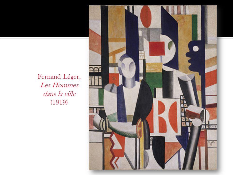 Fernand Léger, Les Hommes dans la ville (1919)