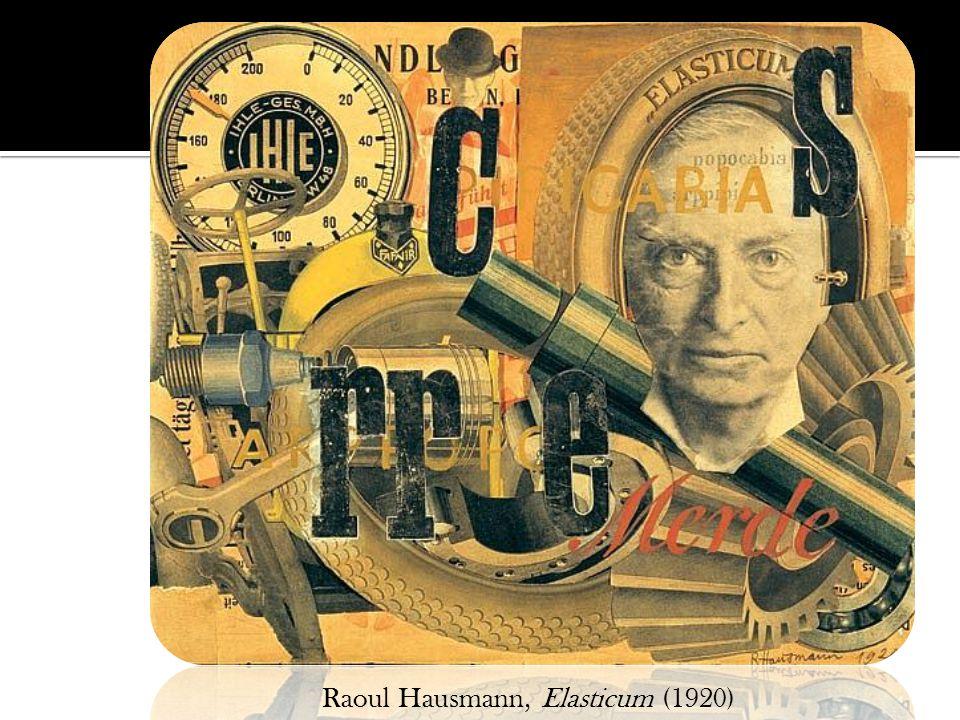 Raoul Hausmann, Elasticum (1920)