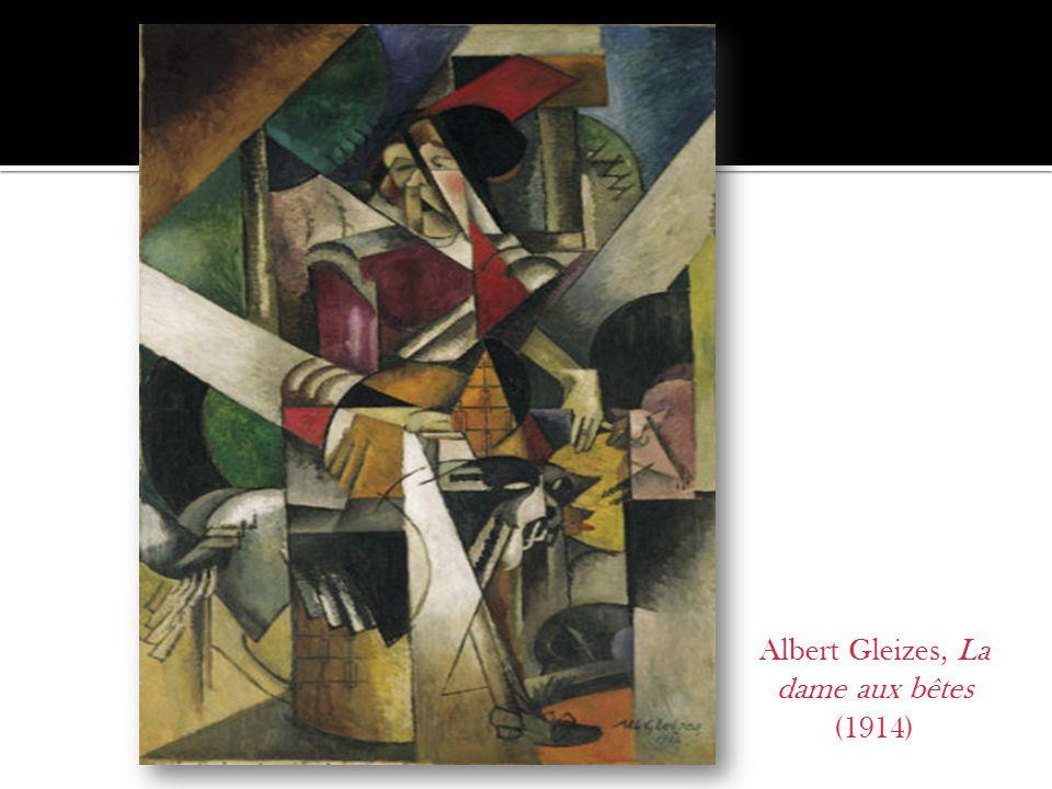 Albert Gleizes, La dame aux bêtes (1914)