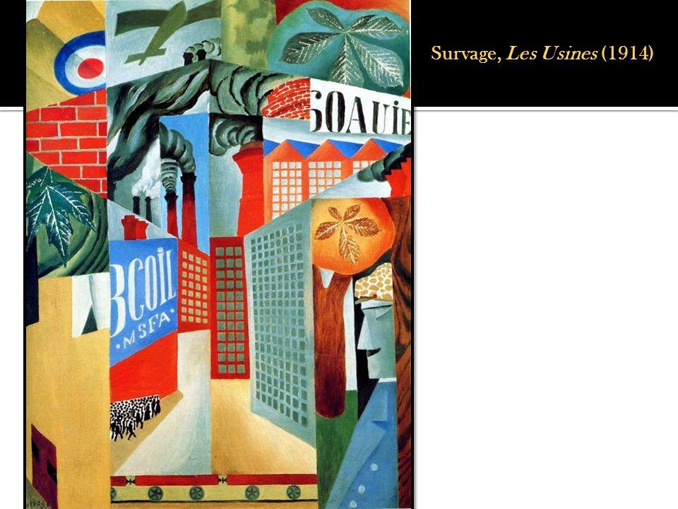 Survage, Les Usines (1914)