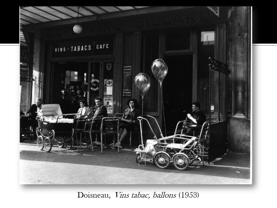 Doisneau, Vins tabac, ballons (1953)