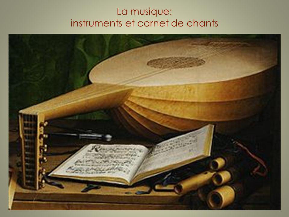La musique: instruments et carnet de chants