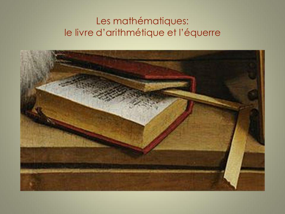 Les mathématiques: le livre darithmétique et léquerre