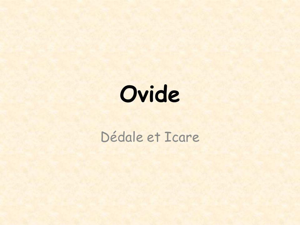Qui est Ovide .43 av. J.-C. / 17 ap. J.-C.