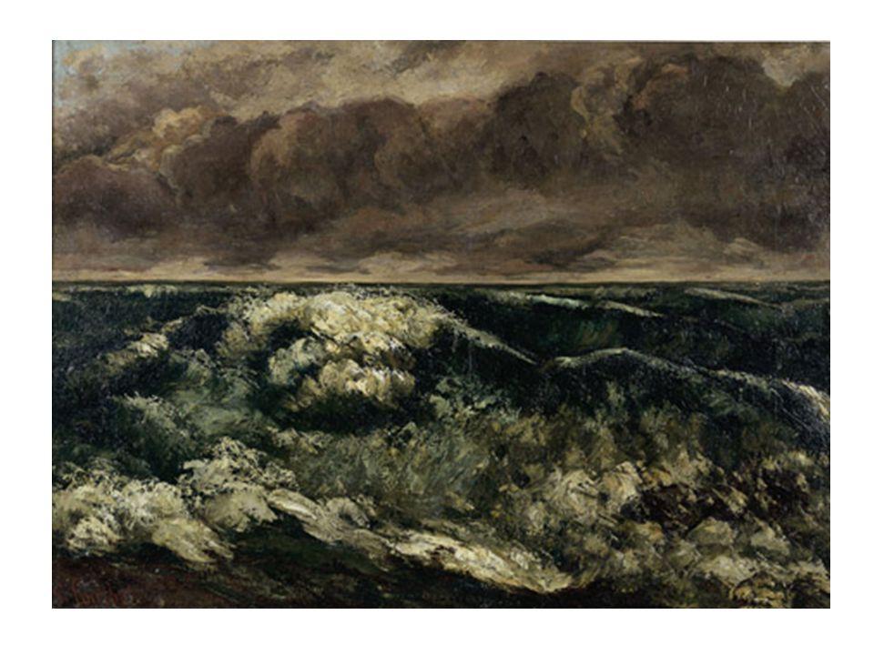 Claude Monet (1840–1926) Mer agitée à Étretat 1883
