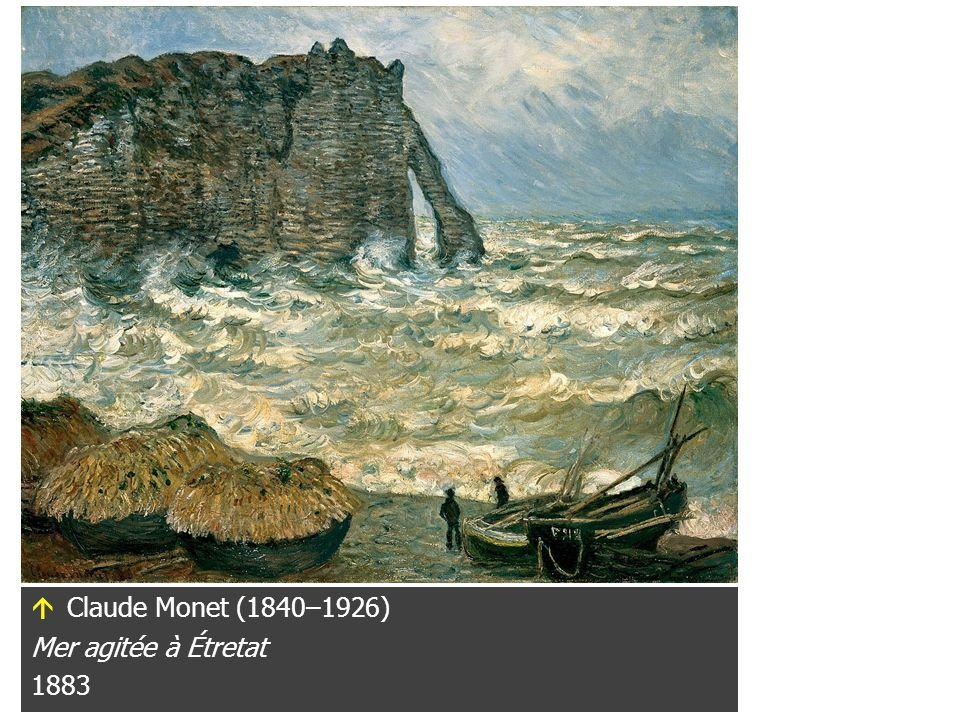 Gustave Courbet (1819–1877) La vague 1869