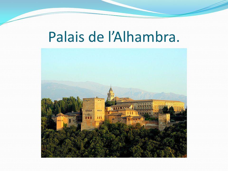 Palais de lAlhambra.
