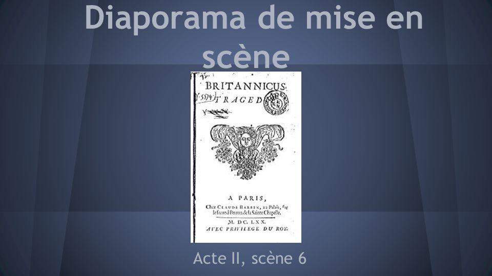 Diaporama de mise en scène Acte II, scène 6
