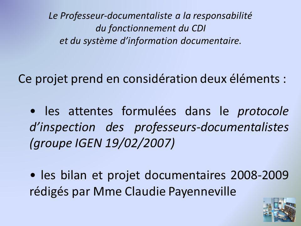 Cinq axes de travail le CDI comme lieu d accueil la pédagogie documentaire le travail de gestion la participation aux projets de l établissement l ouverture culturelle