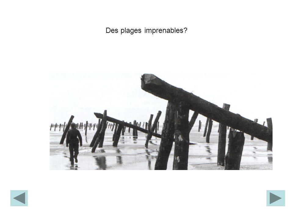 Des plages imprenables?