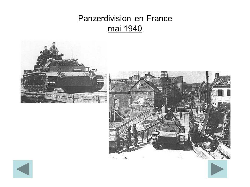 Panzerdivision en France mai 1940
