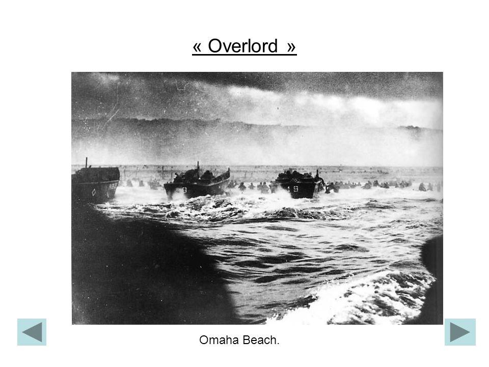 « Overlord » Omaha Beach.