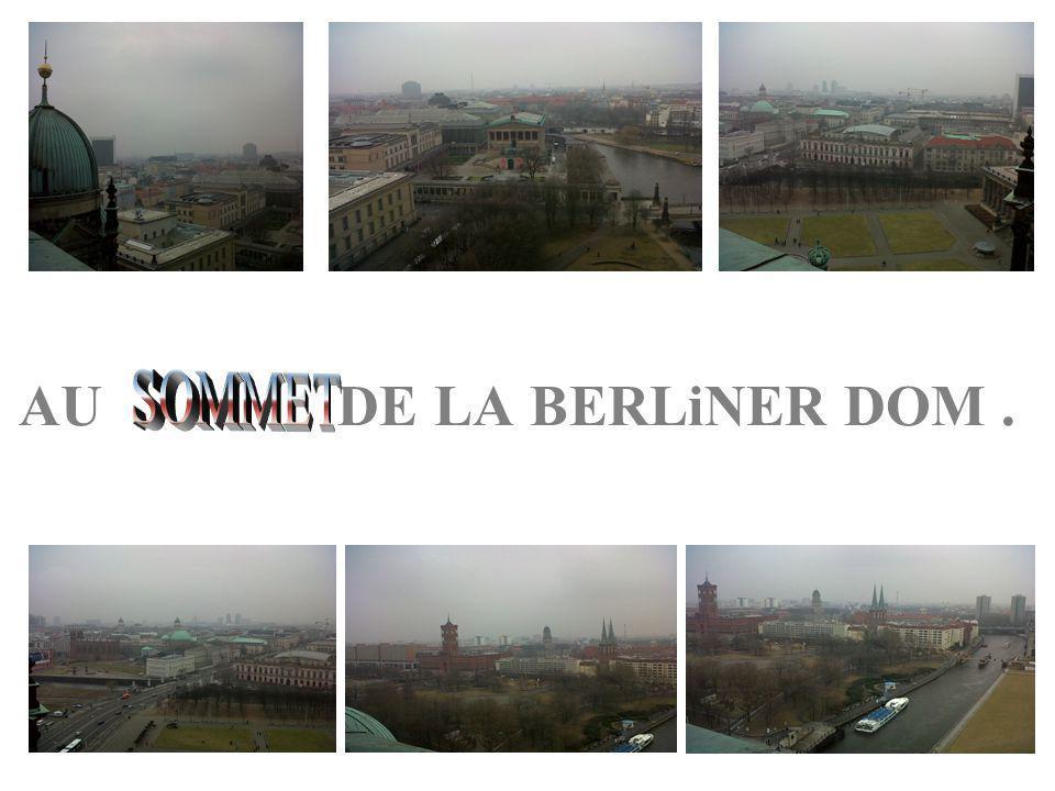 AU DE LA BERLiNER DOM.