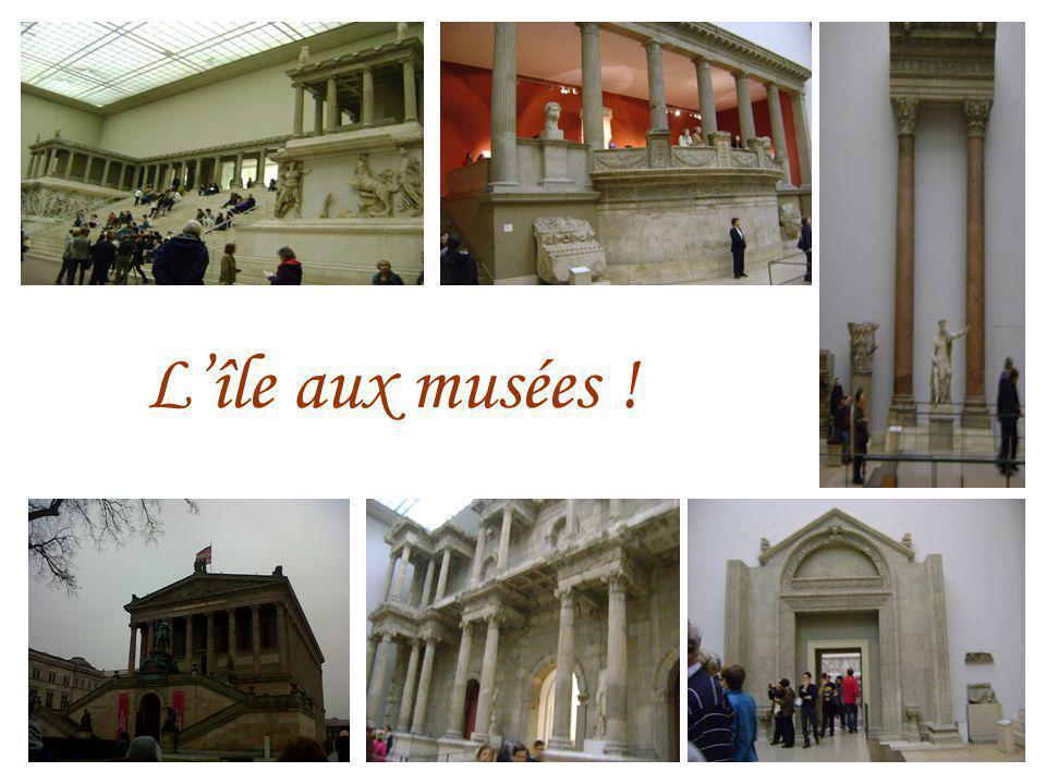 Lîle aux musées !