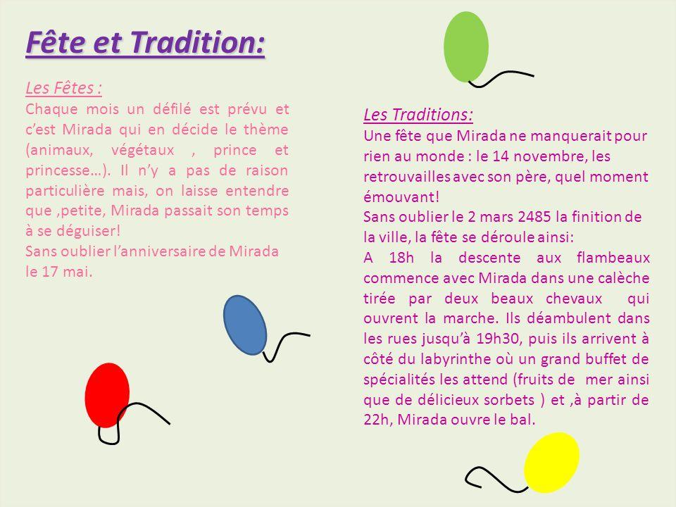 Fête et Tradition: Les Traditions: Une fête que Mirada ne manquerait pour rien au monde : le 14 novembre, les retrouvailles avec son père, quel moment émouvant.