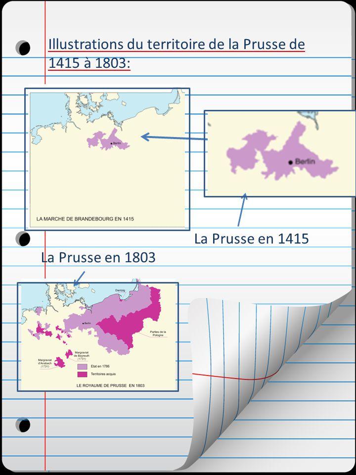 Frédéric ll le Grand plaça la Prusse au rang des grandes puissances.