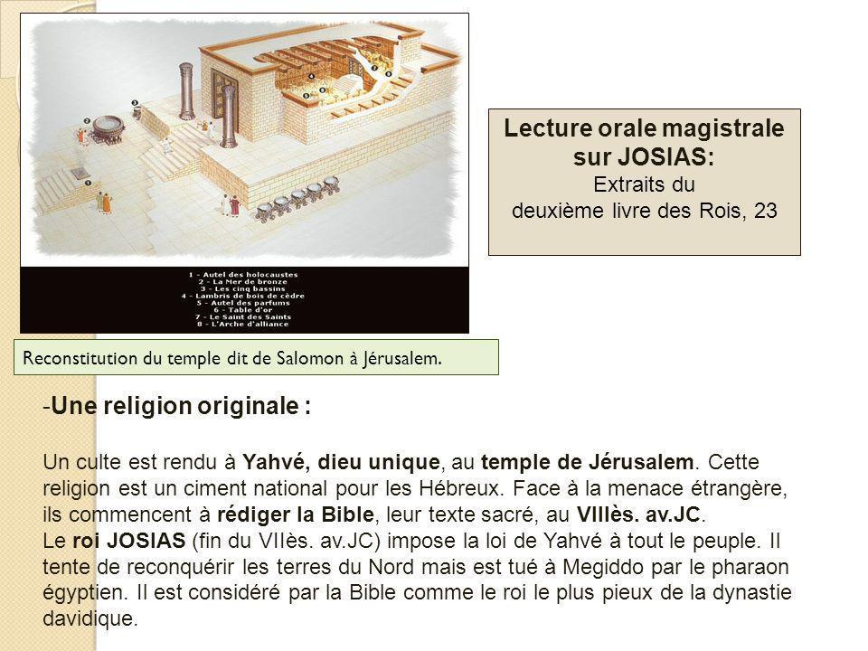 1.2. Lexil à Babylone (VIè siècle av.JC)