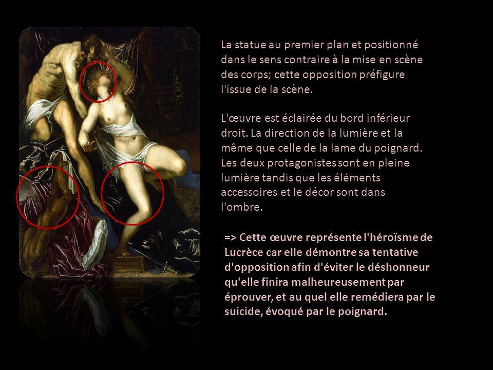 Le viol et la mort de Lucrèce ont inspiré beaucoup dartistes, en particulier des peintres du XVIe siècle.