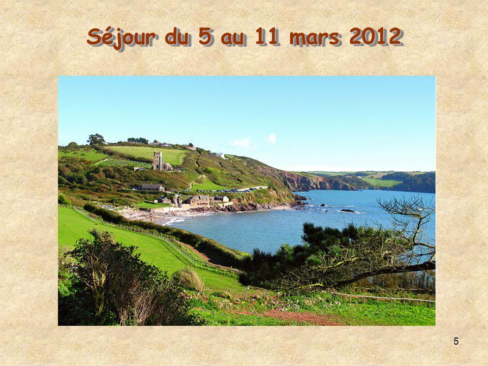 5 Séjour du 5 au 11 mars 2012 Séjour du 5 au 11 mars 2012