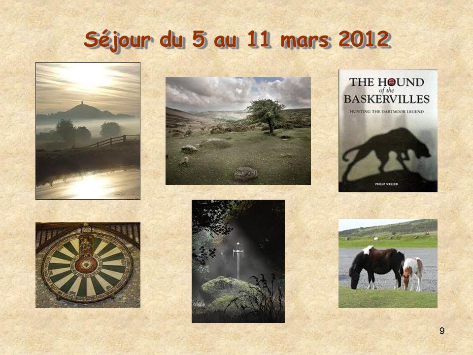 9 Séjour du 5 au 11 mars 2012 Séjour du 5 au 11 mars 2012