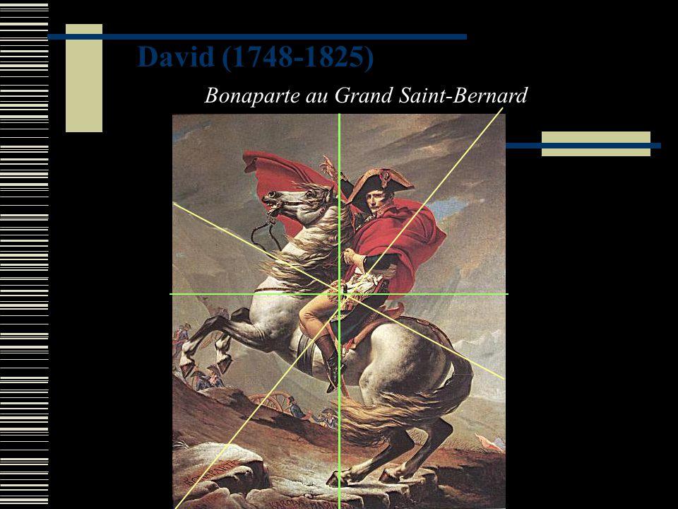 David (1748-1825) Bonaparte au Grand Saint-Bernard
