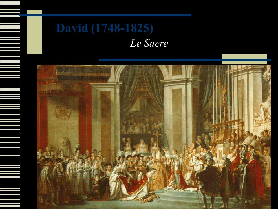 David (1748-1825) Le Sacre