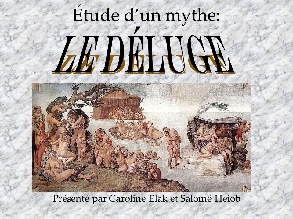 Étude dun mythe: Présenté par Caroline Elak et Salomé Heiob