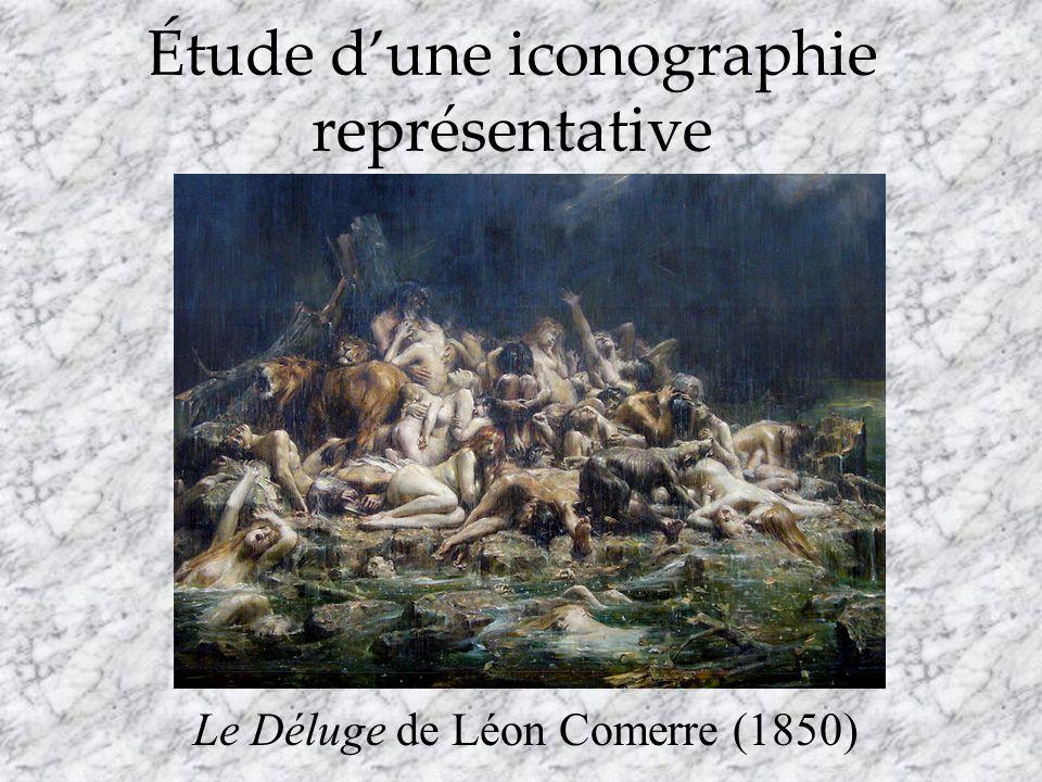 Étude dune iconographie représentative Le Déluge de Léon Comerre (1850)