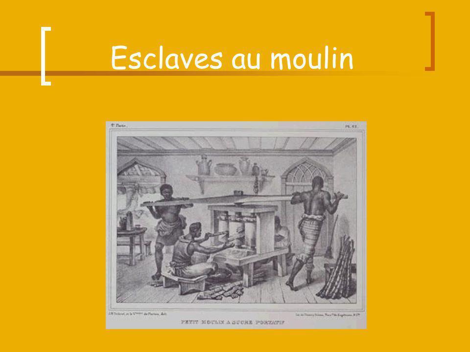 Esclaves au moulin