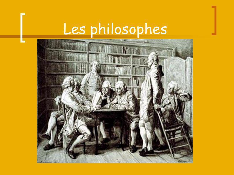 Les philosophes