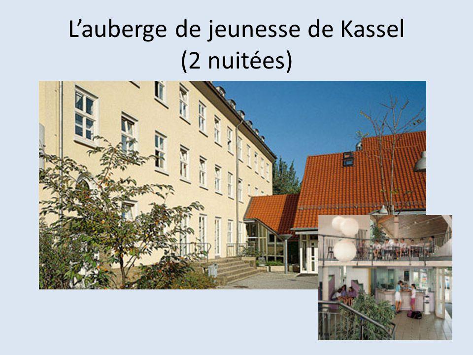 Lauberge de jeunesse de Kassel (2 nuitées)