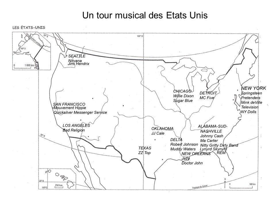 Un tour musical des Etats Unis