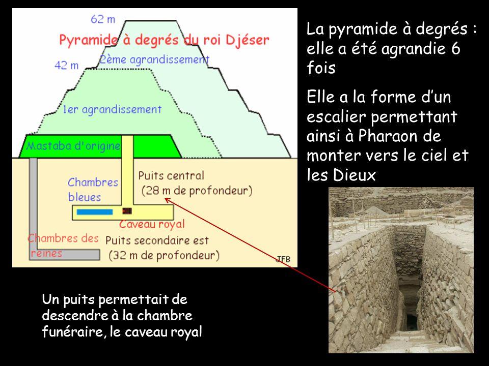 Entrée principale du complexe funéraire : unique porte dentrée, il en existe 14 autres mais elles sont fausses.