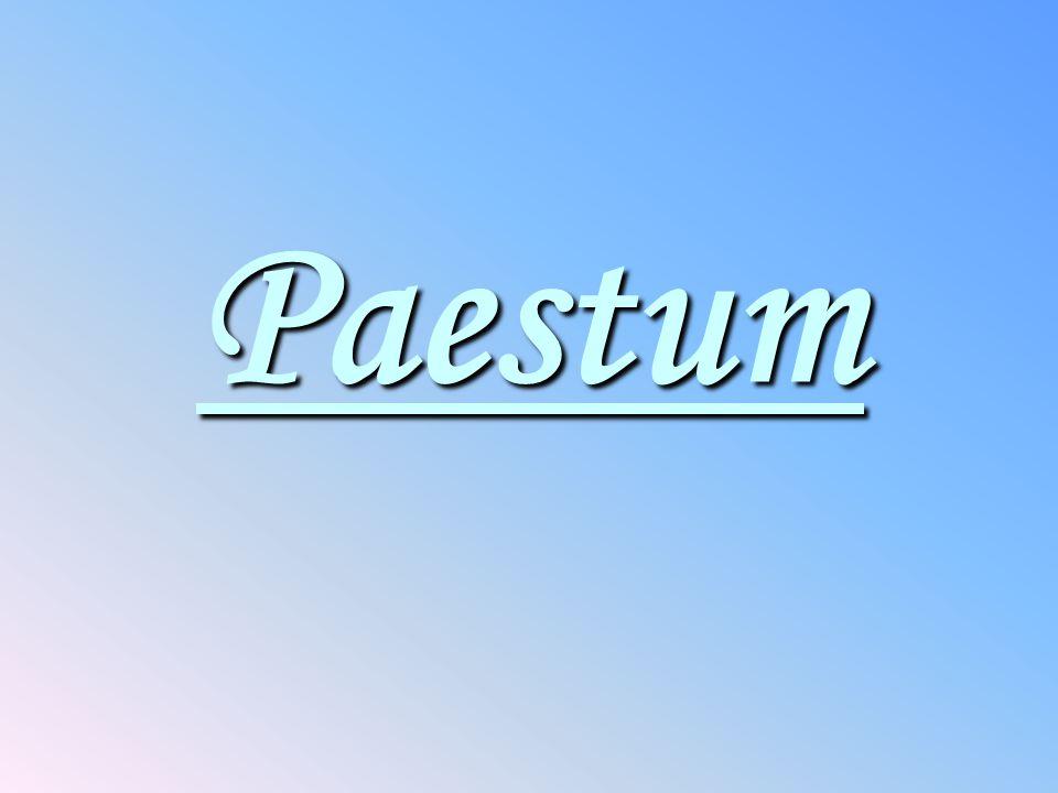Paestum Paestum