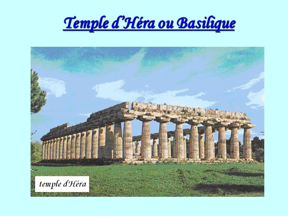 Temple dHéra ou Basilique