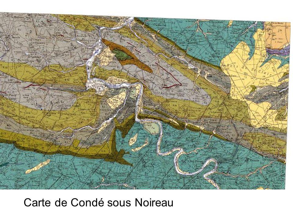 Carte de Condé sous Noireau