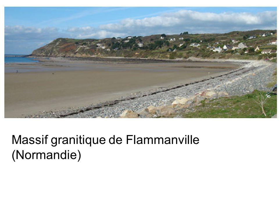 Massif granitique de Flammanville (Normandie)
