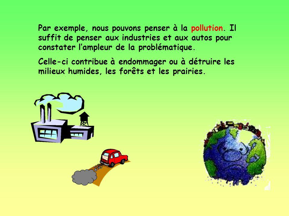 La population des grenouilles est en baisse. Pourquoi? Il y a plusieurs explications quon pourrait donner à cette situation.