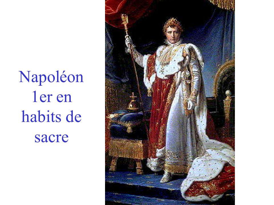 Napoléon 1er en habits de sacre