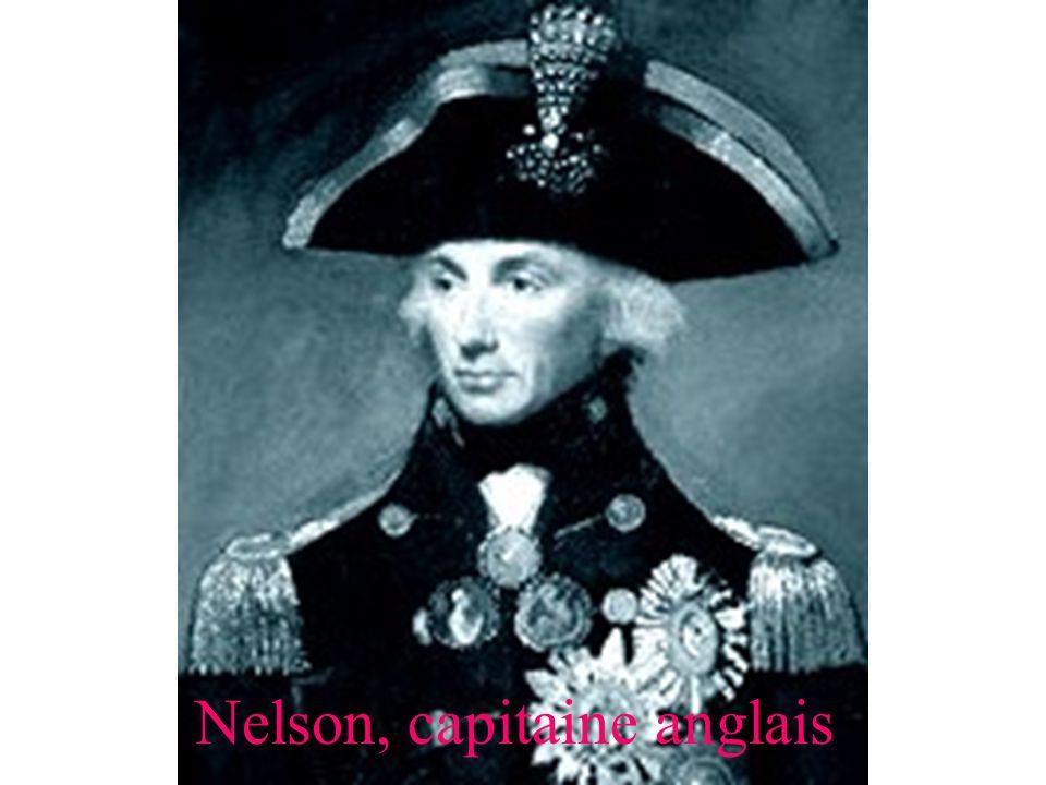 Nelson, capitaine anglais