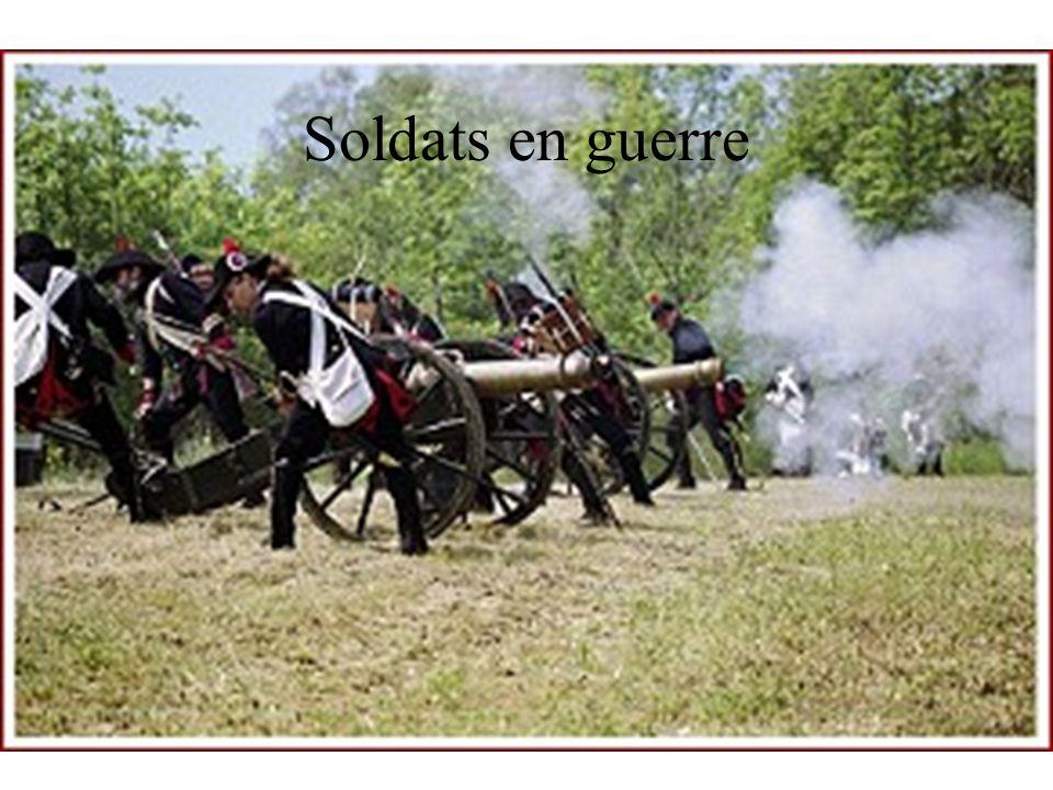 Soldats en guerre