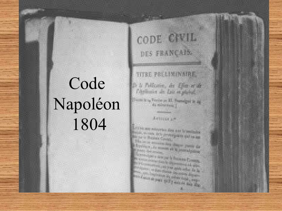 Code Napoléon 1804
