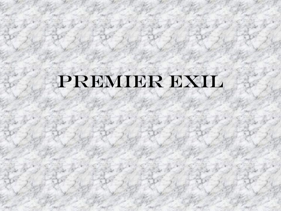 Premier exil