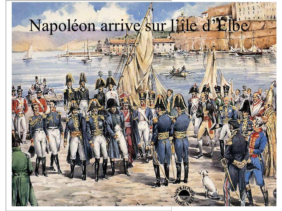 Napoléon arrive sur l île d Elbe
