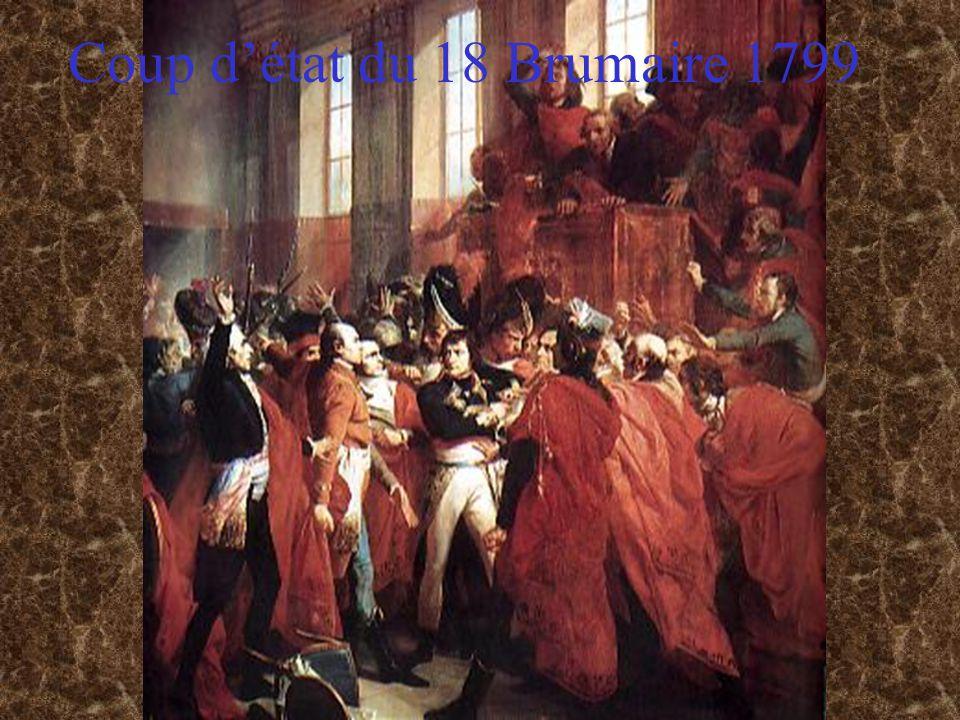 Coup détat du 18 Brumaire 1799